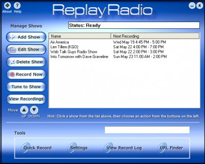Replay Radio 5.1 screenshot