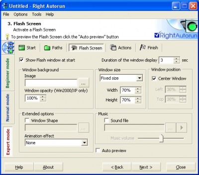 Right Autorun 1.0 screenshot