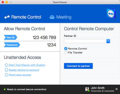 TeamViewer 15.1.3937 screenshot