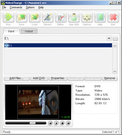 VideoCharge 3.16 screenshot