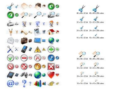Vista Toolbar Icons 2013.2 screenshot