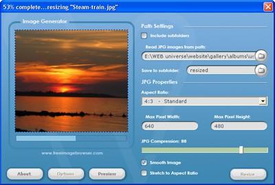 Visualizer Photo Resize 6.1 screenshot