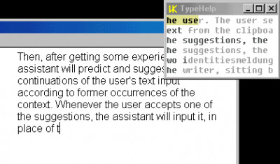 VK TypeHelp 1.5 screenshot