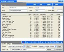 Xilisoft CD Ripper 1.0.36 screenshot