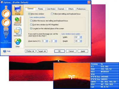 Zoommy 7.1 screenshot